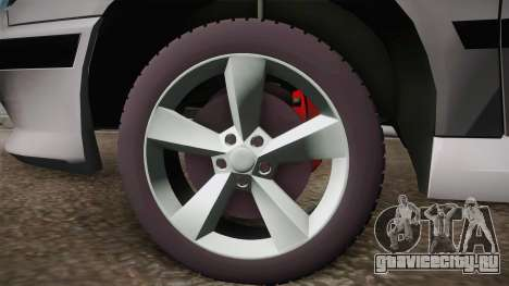Peugeot 406 Tunable для GTA San Andreas вид сзади слева
