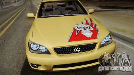 Lexus IS300 NFSMW05 PJ для GTA San Andreas вид справа