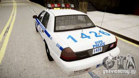 Ford Crown Victoria Police In 2009 для GTA 4 вид сзади слева