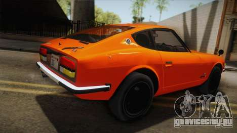 Nissan Fairlady Z 432 1969 для GTA San Andreas вид слева