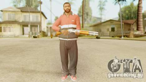 GTA 5 Franklin Jacket and Tracker Pant v2 для GTA San Andreas четвёртый скриншот