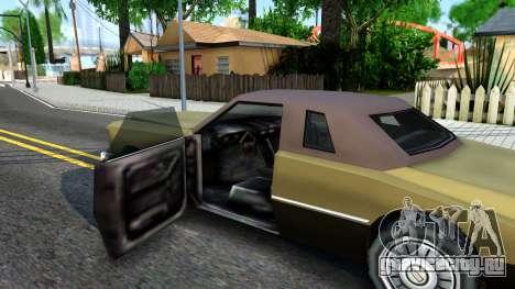 Idaho SA style для GTA San Andreas вид изнутри