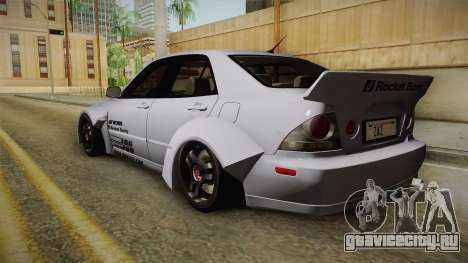 Lexus IS300 Rocket Bunny v2 для GTA San Andreas вид слева