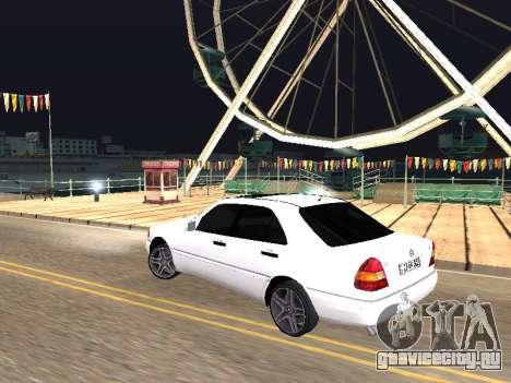 Mercedes-Benz C 180 Armenian для GTA San Andreas вид слева