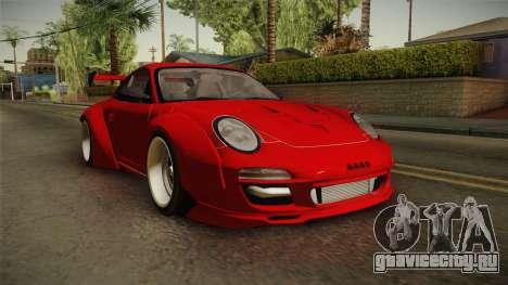 Porsche 911 Sport Classic Tuned для GTA San Andreas вид справа