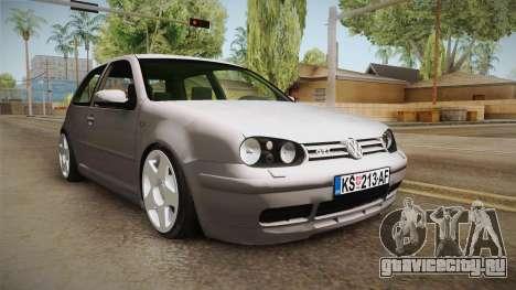 Volkswagen Golf Mk4 GTI для GTA San Andreas вид справа