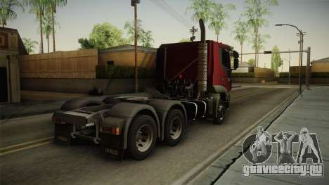 Iveco Trakker Hi-Land 6x4 Cab Low v3.0 для GTA San Andreas вид слева