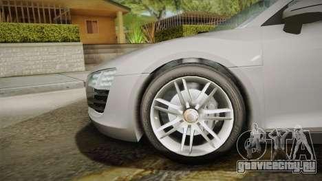 Audi Le Mans Quattro 2005 v1.0.0 YCH Dirt PJ для GTA San Andreas вид сзади слева