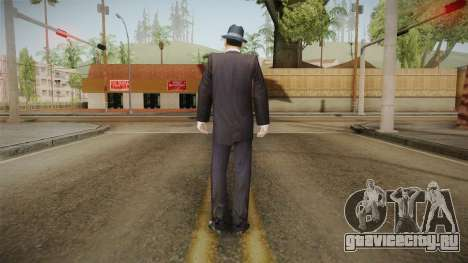 Mafia - Thomas Angelo Normal Suit and Hat для GTA San Andreas третий скриншот