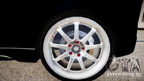 Hyundai Veloster Turbo 2012 vs 2.0 by Mauricio для GTA 4 вид сзади
