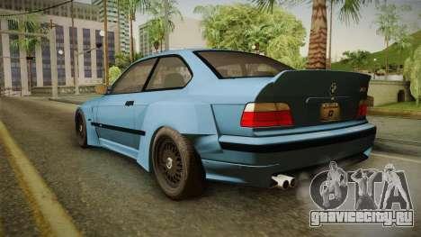 BMW M3 E36 Pandem Kit для GTA San Andreas вид слева
