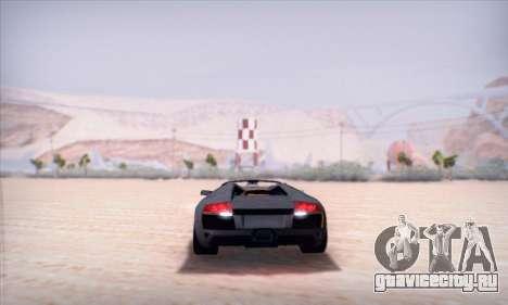 Lamborghini Murcielago LP650-4 Roadster (IVF) для GTA San Andreas вид сбоку