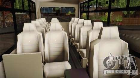 Ford Econoline 150 Microbus для GTA San Andreas вид сзади