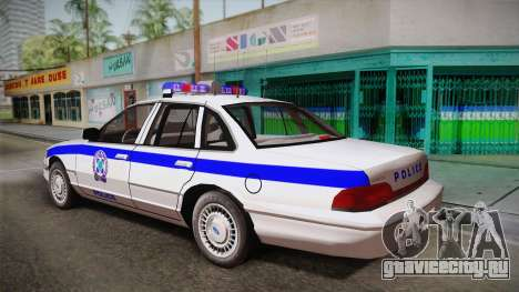 Ford Crown Victoria 1994 для GTA San Andreas вид слева