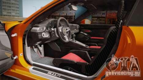 Porsche 911 R (991) 2017 v1.0 для GTA San Andreas вид сбоку