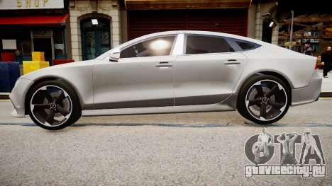 Audi RS7 2015 для GTA 4 вид слева