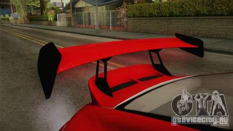 Porsche 911 Sport Classic Tuned для GTA San Andreas вид сбоку