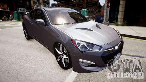 Hyundai Genesis Coupe13 ARAS для GTA 4