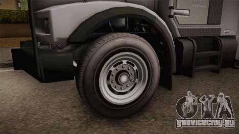 GTA 5 Brute Stockade для GTA San Andreas вид сзади