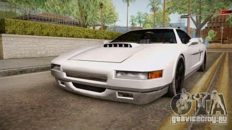 Modified Infernus для GTA San Andreas вид сзади слева