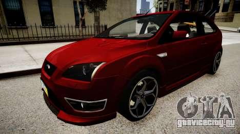 Ford Focus ST 2005 для GTA 4