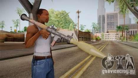 RPG-7 для GTA San Andreas