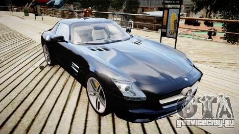 Mercedes-Benz SLS63 AMG для GTA 4 вид справа