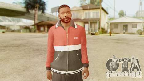GTA 5 Franklin Jacket and Tracker Pant v2 для GTA San Andreas третий скриншот