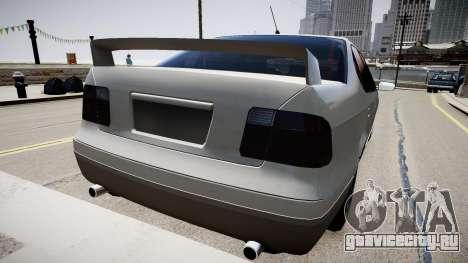 Tuning Taxi-2 для GTA 4 вид сзади слева