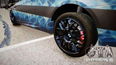 BMW M3 Pickup для GTA 4 вид сзади
