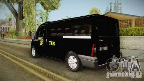 Ford Transit для GTA San Andreas вид слева