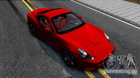 Ferrari California для GTA San Andreas вид справа