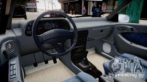 Daewoo Espero GLX 1.5 16V DOHC 1996 для GTA 4 вид изнутри
