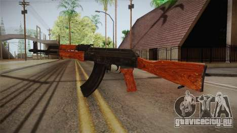 CoD 4: MW - AK-47 Remastered для GTA San Andreas второй скриншот
