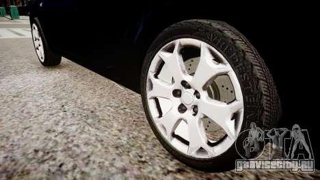 Opel Astra Sports Tourer 2011 для GTA 4 вид сзади