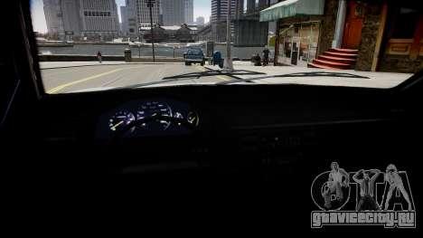 Tuning Taxi-2 для GTA 4 вид изнутри