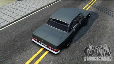 ГАЗ 3102 СССР для GTA San Andreas вид сзади