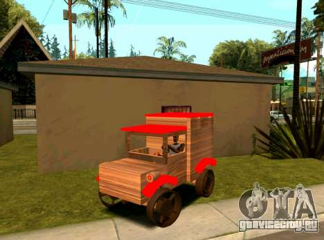 Wooden Toy Truck для GTA San Andreas