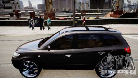 Hyundai Santa Fe для GTA 4 вид слева