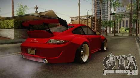 Porsche 911 Sport Classic Tuned для GTA San Andreas вид сзади слева