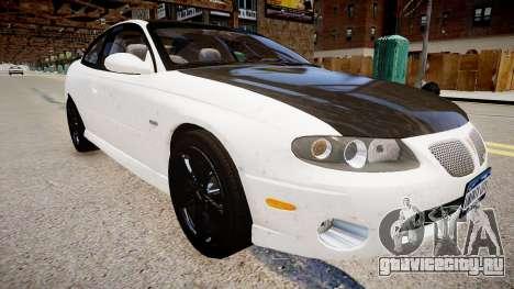 Pontiac GTO для GTA 4