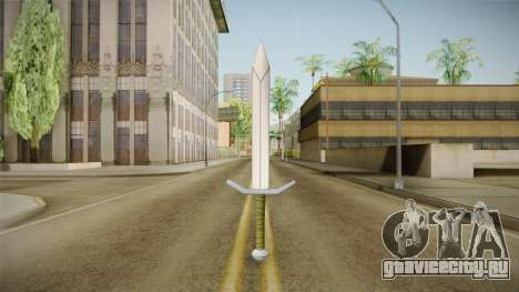 DBX2 - Trunks Sword для GTA San Andreas второй скриншот