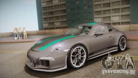 Porsche 911 R (991) 2017 v1.0 Green для GTA San Andreas