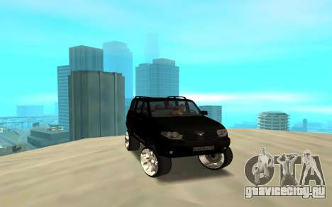 УАЗ Патриот 2014 для GTA San Andreas