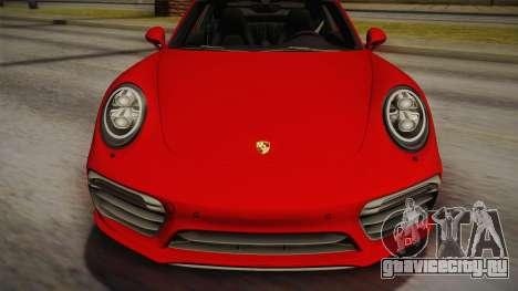 Porsche 911 Turbo S 2017 для GTA San Andreas вид справа