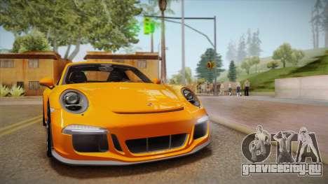 Porsche 911 R (991) 2017 v1.0 для GTA San Andreas вид сзади
