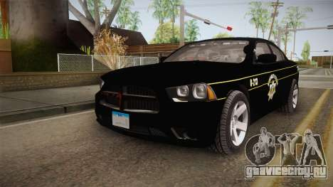 Dodge Charger 2013 SA Highway Patrol v2 для GTA San Andreas