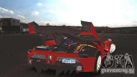 Ferrari FXX K [EPM] для GTA 4 вид слева