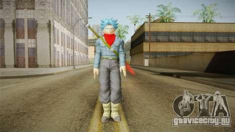 DBX2 - Trunks SSJB для GTA San Andreas второй скриншот