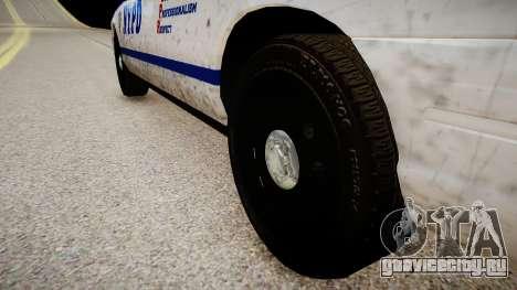 Ford Crown Victoria Police In 2009 для GTA 4 вид сзади